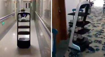 Robots por Coronavirus: así son los hospitales que China quiere mostrar al mundo