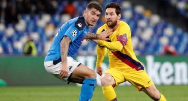 Barcelona rescató un pobre empate ante el Napoli por Champions League