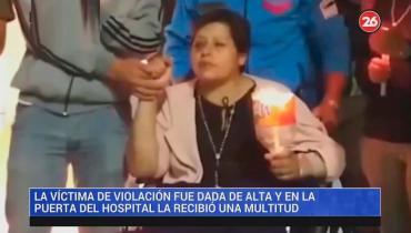 Horror en Puerto Deseado: mujer violada fue dada de alta y regresa a Salta