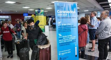 Coronavirus: por posibles casos, activaron protocolo en Ezeiza, San Isidro y Ushuaia
