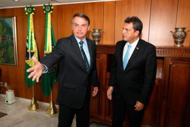 Sergio Massa se reunió con Bolsonaro:
