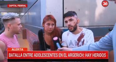Batalla campal a salida de boliche y en Hospital Argerich: