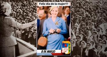 #8M y los derechos de la mujer: el legado inigualable de Eva Perón
