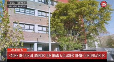 Colegio de Villa del Parque confirmó que padre de alumnas padece coronavirus