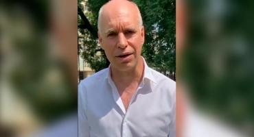 Horacio Rodríguez Larreta respondió al video viral con su estornudo