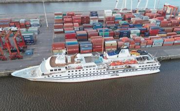 Coronavirus: activan protocolo en puerto de Buenos Aires por crucero con 900 pasajeros