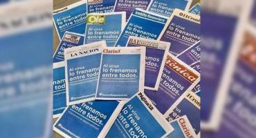 Al virus lo frenamos todos: las portadas de los diarios para enfrentar al coronavirus