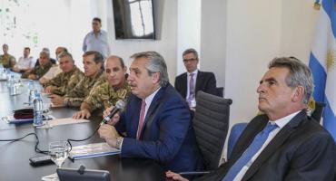 Ministro de defensa Agustín Rossi por coronavirus: