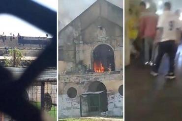 Tres muertos en motines por coronavirus en cárceles de Coronda y Las Flores