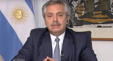 """Alberto Fernández: """"Nadie está exento a este virus, inclusive los que se demoraron en tomar medidas"""""""