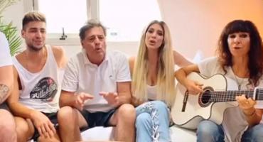Coronavirus: la canción de la familia Xipolitakis que es furor en las redes