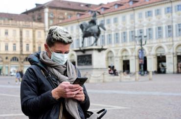 Nuevo récord trágico en Italia: 969 muertos en un día por coronavirus, a 9.134, mayor alza registrada desde inicio del brote