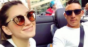 Murió la novia de Ricardo Centurión en accidente automovilístico