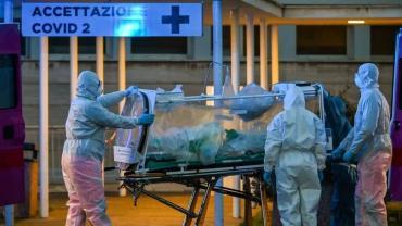 Coronavirus en Italia: 756 muertos en 24 hs., casi 11.000 fallecidos en total y contagios estabilizados