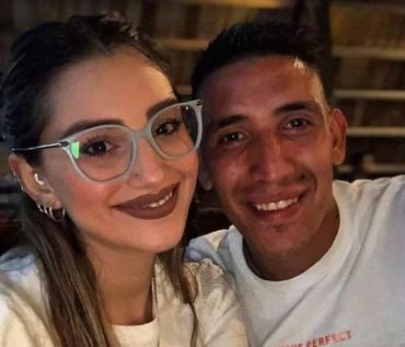 Los mensajes de amor de Ricardo Centurion para su novia Melody Pasini de 25 años