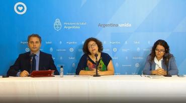 Ministerio de Salud por coronavirus en Argentina: