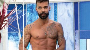 Ricky Martin despertó suspiros con sus fotos en plena cuarentena