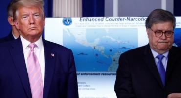 """EEUU lanzó operación antidrogas """"más grande de Occidente"""" y apuntó a Nicolás Maduro"""