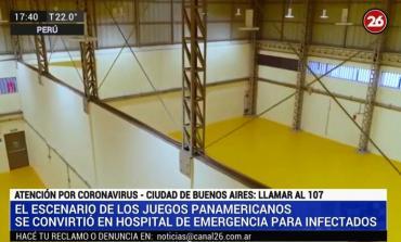 Coronavirus en Perú: la villa de Juegos Panamericanos se convirtió en Hospital de Emergencia