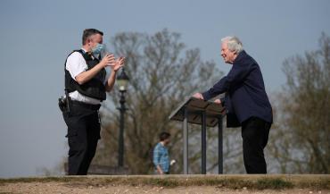 Reino Unido reportó su peor cifra de muertes en un día con 980 víctimas