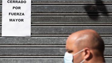 La economía argentina caerá 6,5% en 2020 por el impacto del coronavirus, según la CEPAL