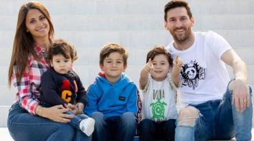 Antonela Roccuzzo celebró la medida que permite que los chicos en España salgan a la calle
