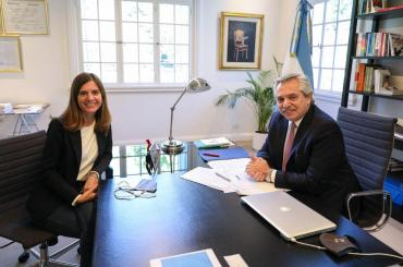 Alberto Fernández designó a la marplatense Fernanda Raverta como nueva titular de ANSES