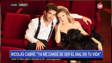Polémico chat de Nicolás Cabré y Laurita Fernández: