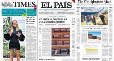 Tapas de diarios del mundo: OMS alerta sobre rebrotes de coronavirus y vueltas a cuarentena