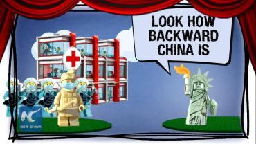 Érase una vez un virus: desde China se burlan de EE.UU. por minimizar el coronavirus