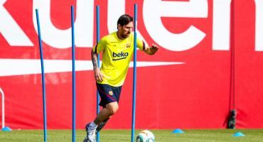 Coronavirus: Messi y Barcelona volvieron a los entrenamientos bajo un estricto protocolo