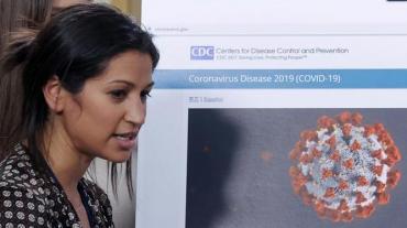 Vocera de vicepresidente de Estados Unidos, está contagiada de Coronavirus