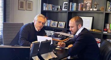 Alberto Fernández y Martín Guzmán, búsqueda de superar el