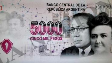 Polémica por imagen en billete de 5.000 pesos: la palabra de la embajadora de Israel