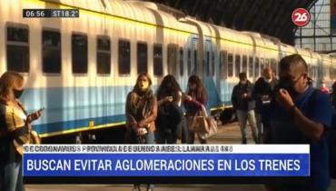 Coronavirus: Gobierno comenzará con sistema de reserva de pasajes en el tren Mitre