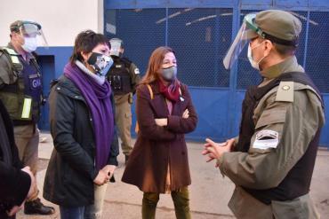 Mayra Mendoza se reunió con Sabina Frederic y coordinaron acciones de seguridad