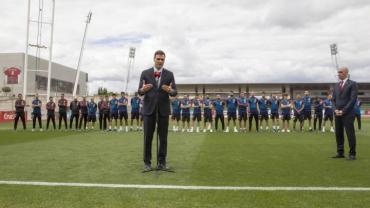 Pedro Sánchez anunció el regreso de Liga española de fútbol desde el 8 de junio