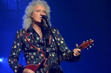 Brian May fue elegido el mejor guitarrista de la historia del rock