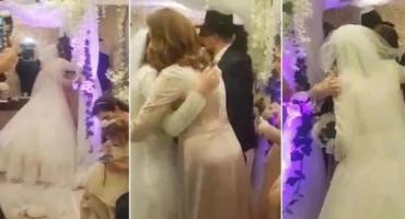 VIDEO: se casaron con más de cien invitados en el barrio de Once en plena cuarentena