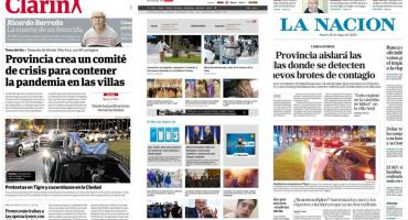 Tapas de diarios argentinos: festejos por 25 de Mayo y muerte de Ricardo Barreda