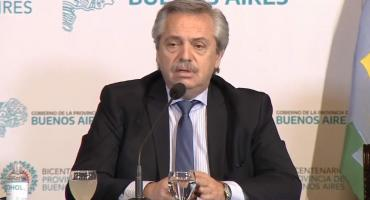 Alberto Fernández en La Plata: