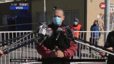 Coronavirus en Villa Azul: ya hay 174 casos y Berni aseguró que