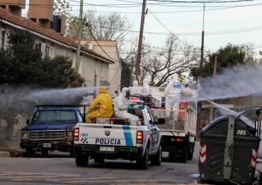 Drama de vecinos de Villa Azul por coronavirus: