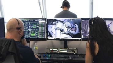 Histórico: la Nasa realiza su primer vuelo tripulado tras 9 años