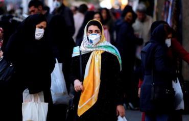 Irán registró un repunte de nuevos casos de coronavirus en casi dos meses