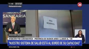 Chile: récord de casos de coronavirus pone al sistema de salud al límite
