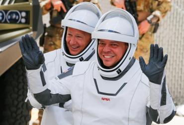 Misión de la NASA y SpaceX: los astronautas están listos y en minutos despegará