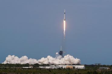 VIDEO: así fue el histórico lanzamiento de la nave Crew Dragon
