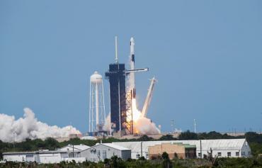 FOTOS: las mejores imágenes del lanzamiento histórico de la NASA y SpaceX