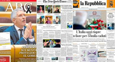 Tapas de diarios del mundo: vuelta a normalidad por coronavirus y violencia en EE.UU.